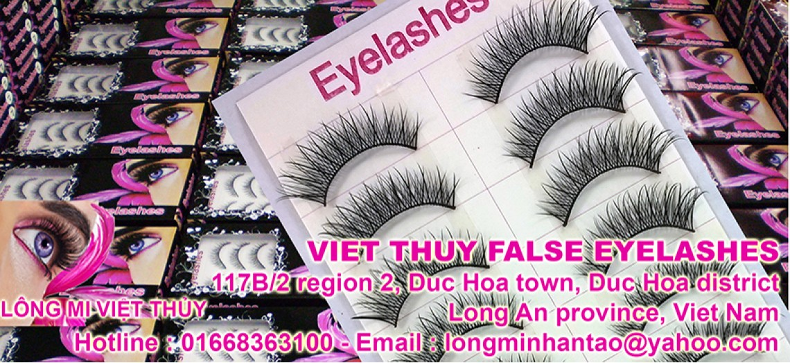Viet Thuy False Eyelashes sample 19 box 10 pairs